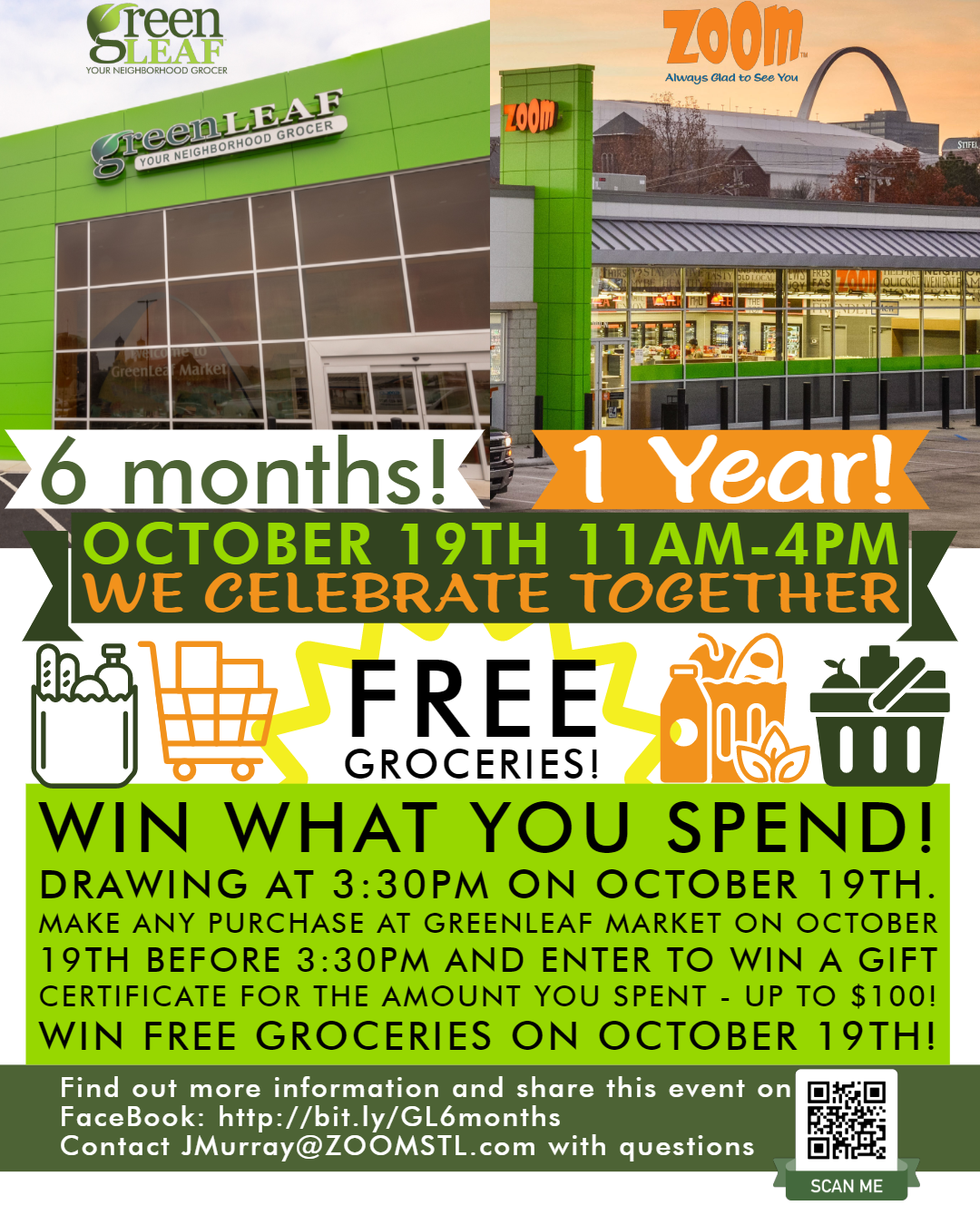 Zoom Convenience Store St. Louis Anniversary October 19